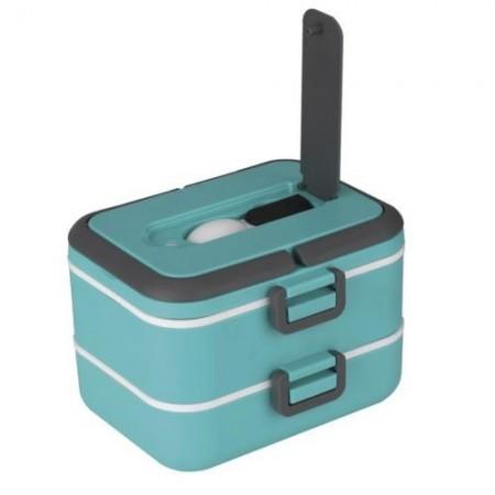 Lunch Box Doppio 1,50L Thulos TH-LB1500 Verde