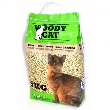 Pellets Woody Cat 8 litros