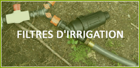 filtres d'irrigation